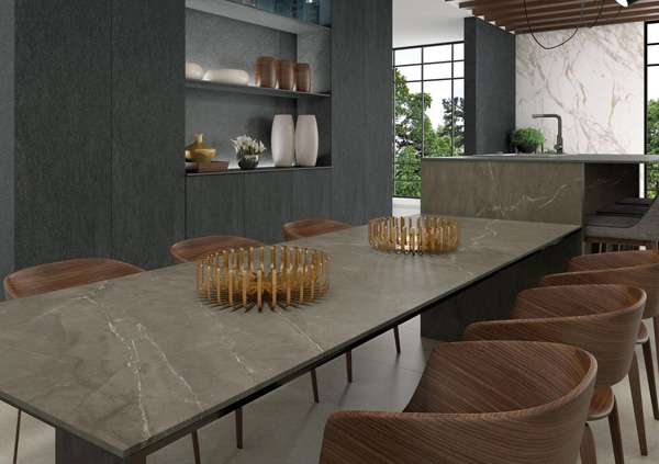 CRL Stone Pietra Grey Marble Effect Surface