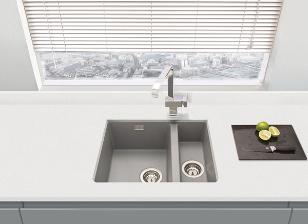 PJH Group granite sink Prima+ collection small