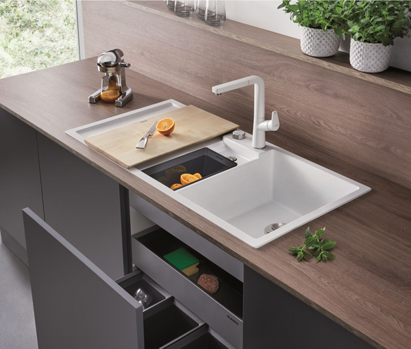 blanco collectis 6-s sink white small