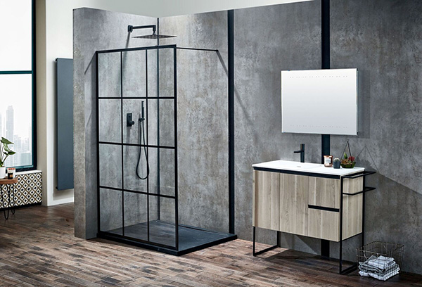 frontline bathrooms aquaglass+velar walk-in small