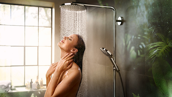 Hansgrohe develops the PowderRain shower 1