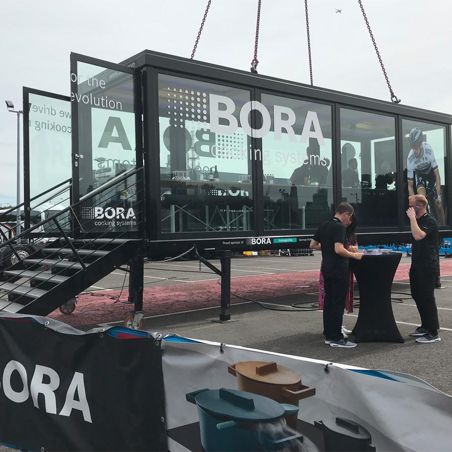 Bora takes to the sky with Revolution Tour 2