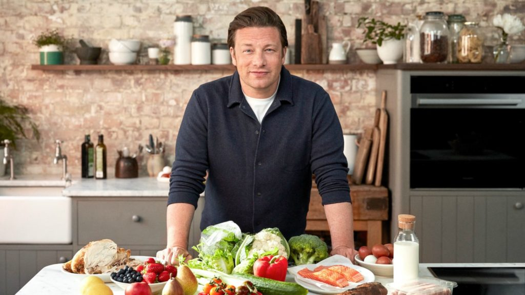 Jamie Oliver heads Hotpoint food waste campaign