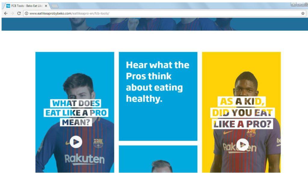 Beko-eat-like-a-pro-website