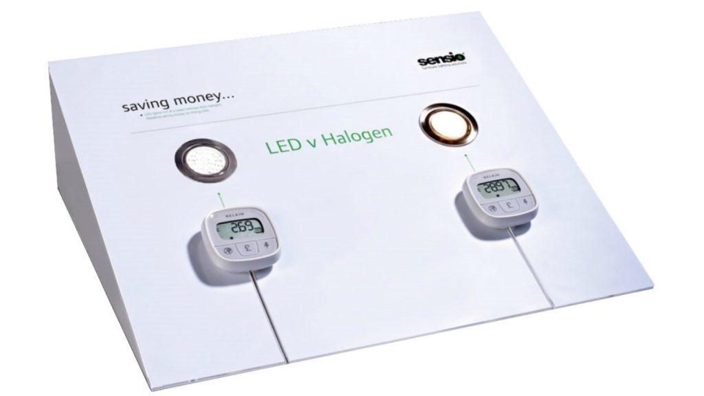 Halogen light bulbs banned in UK