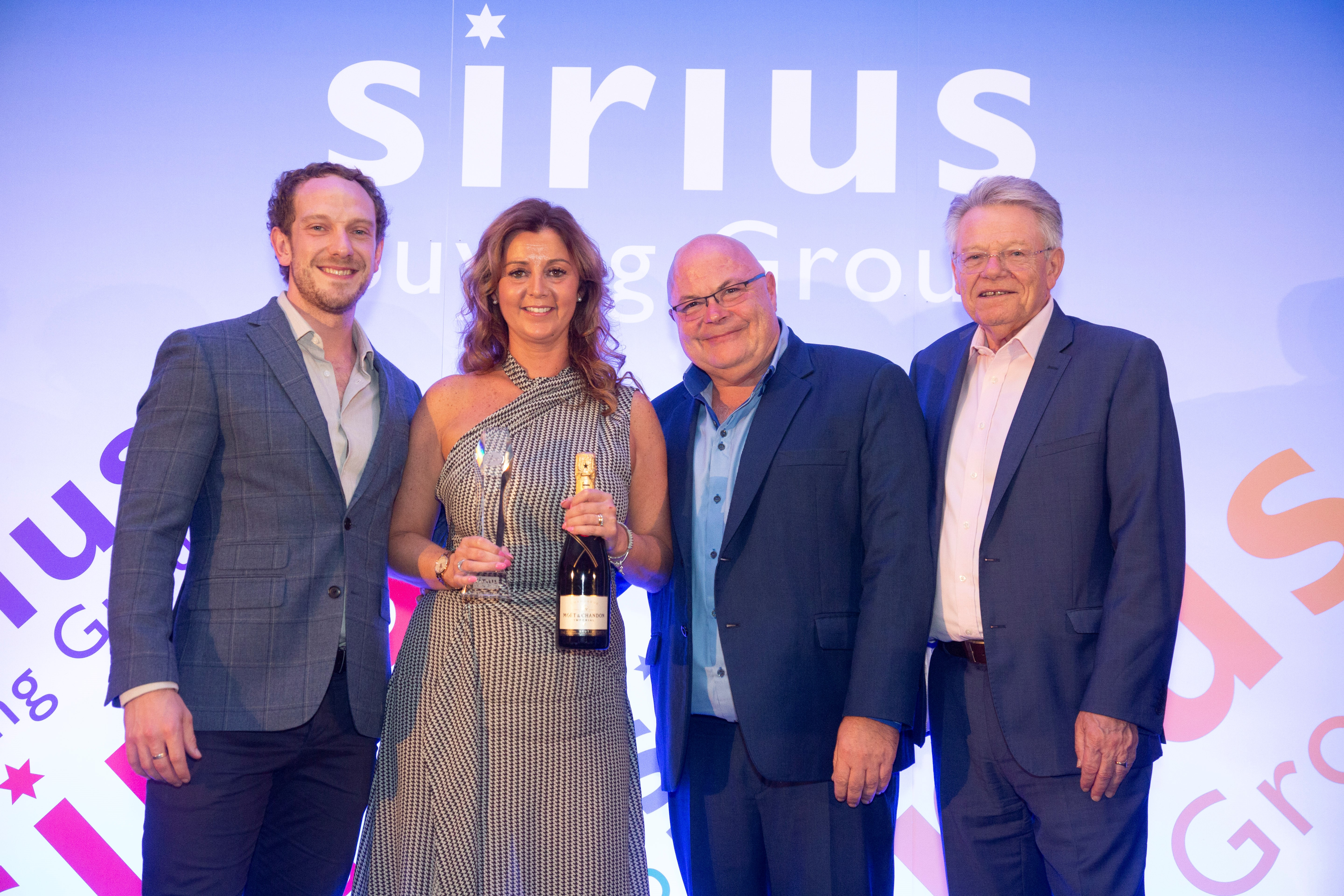 Hoover scoops Sirius Award for fifth time