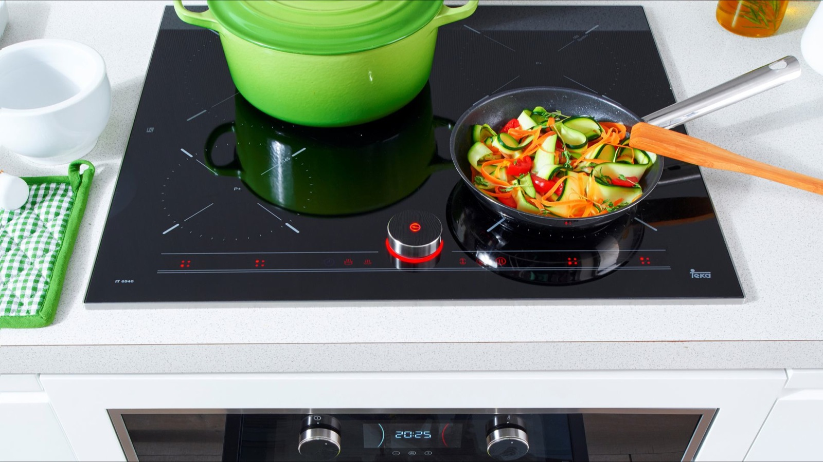 Induction hobs: Magnetic force 1