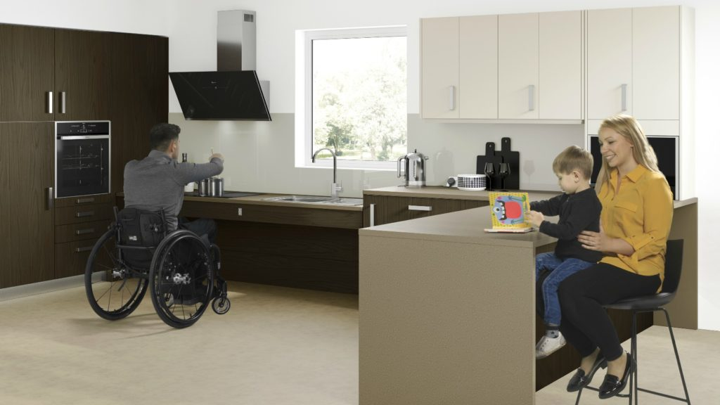 Symphony launches accessible kitchen