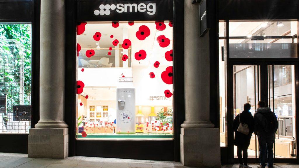 Smeg commemorates Remembrance Day
