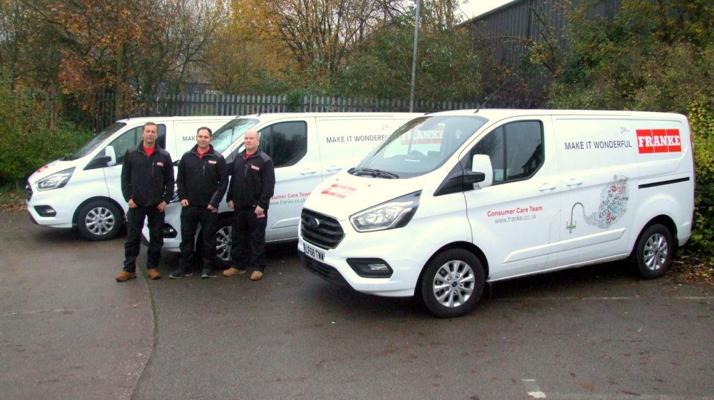 Franke launches UK repair team