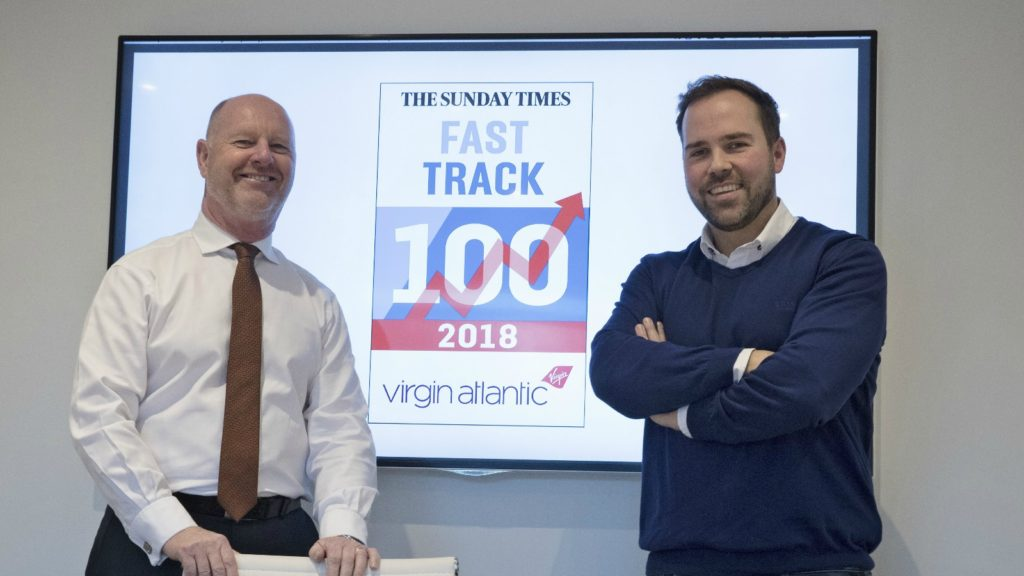 Harrison Bathrooms ranked in Fast Track 100