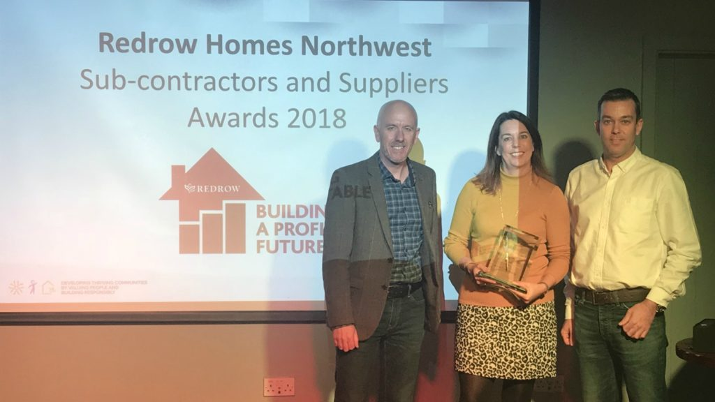 Moores scoops Redrow Supplier of the Year