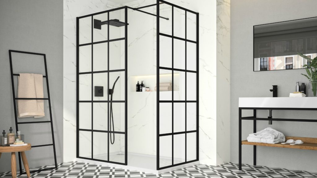 Merlyn introduces Squared Showerwall