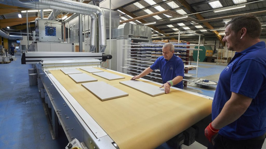 Crown invests in spray painting line