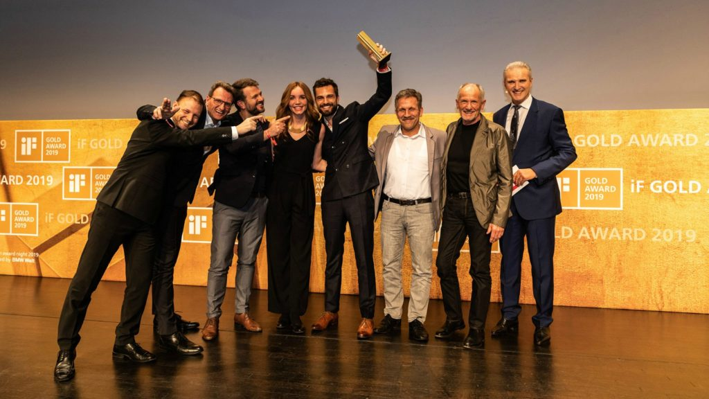 Hansgrohe scoops iF Design Award for Rainfinity