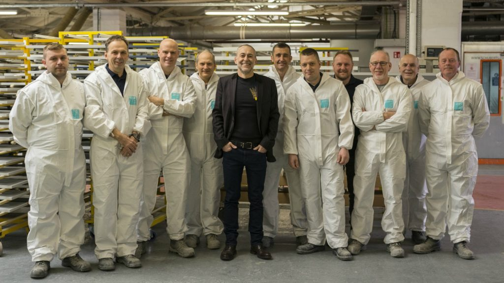 Michel Roux Jr visits Moores for next step in Roux brand