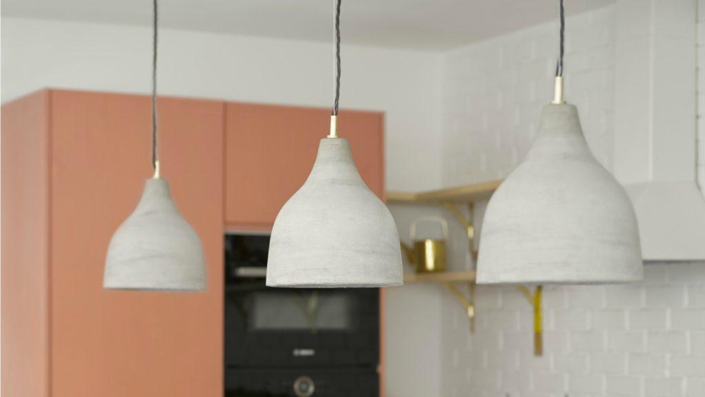 Pooky introduces Soprano concrete pendants