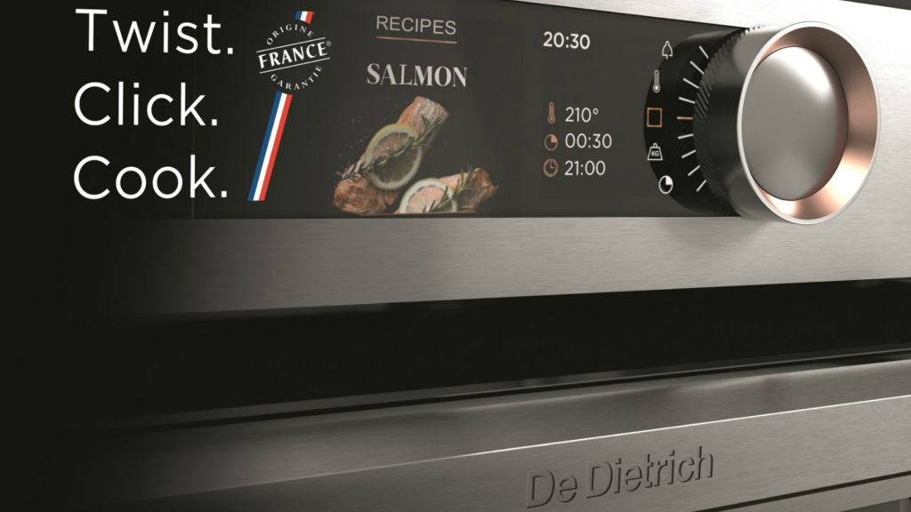 De Dietrich introduces Twist, Click and Cook