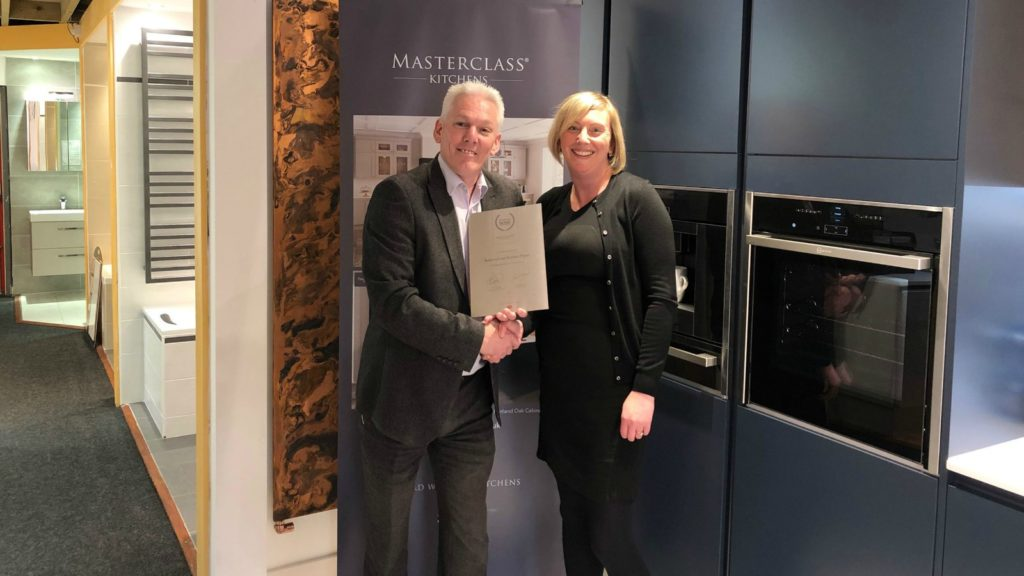 Masterclass Kitchens opens first Scottish showroom