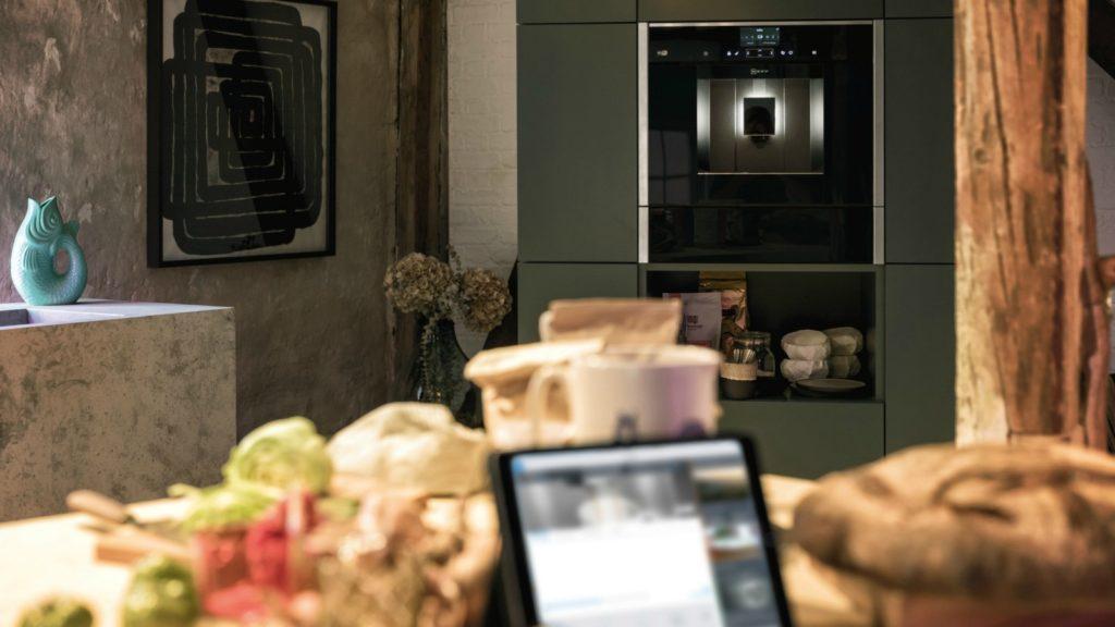Neff unveils connected appliances