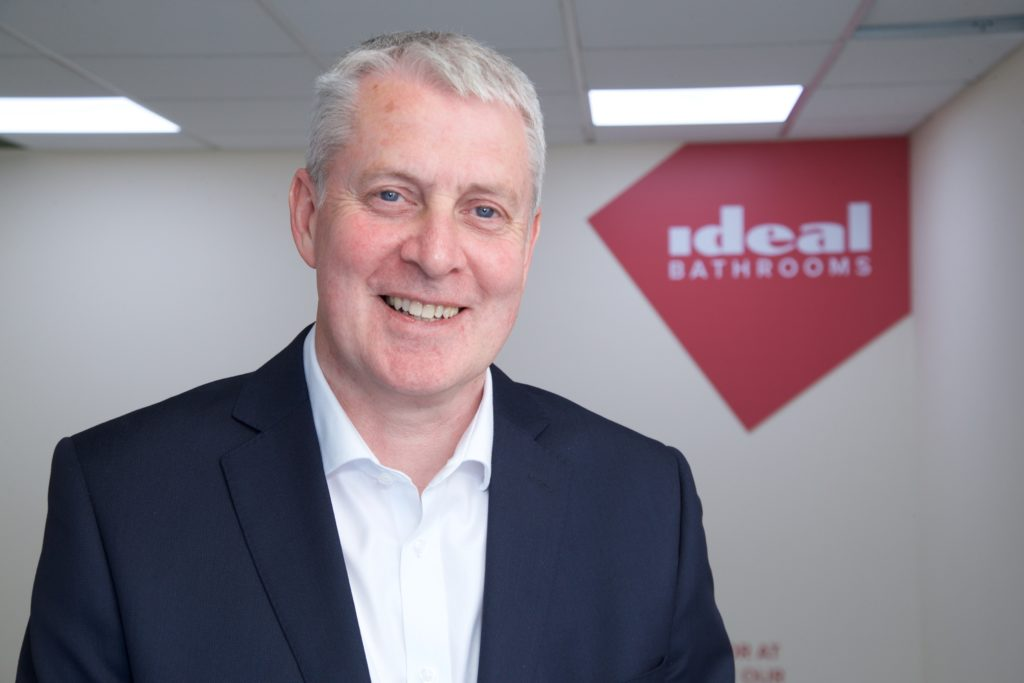 Ideal Bathrooms appoints David Gledhill MD
