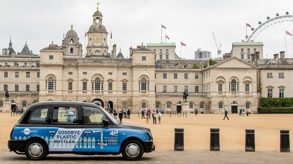 InSinkErator launches London Taxi ad campaign