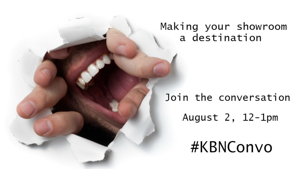 #KBNConvo discusses destination showroom design