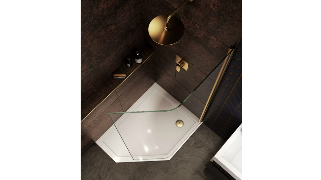 SHOWER ENCLOSURE TRENDS: Look in glass 1