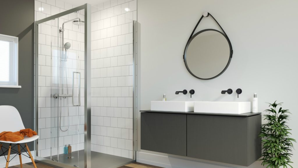SHOWER ENCLOSURE TRENDS: Look in glass 5
