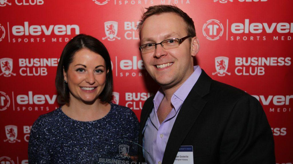 Billingham Kitchens sponsors Middlesborough FC