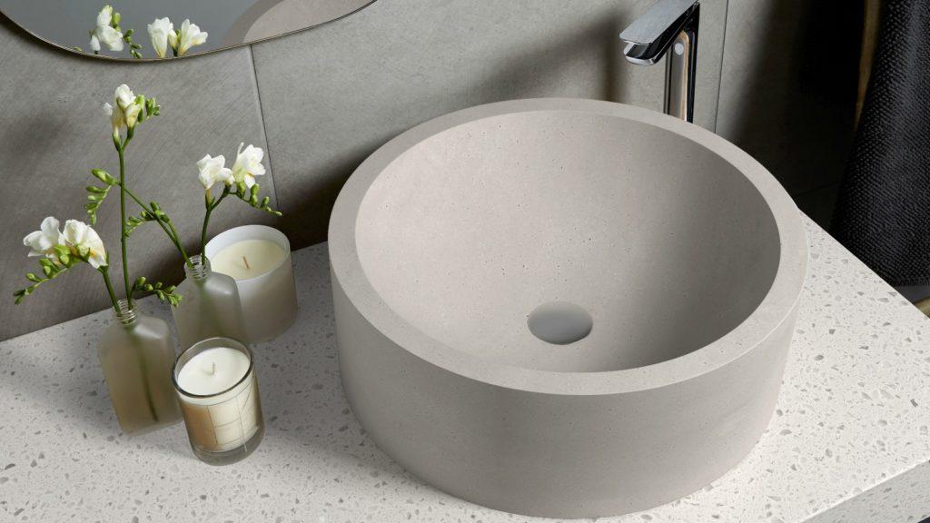 Corian basins and wash troughs