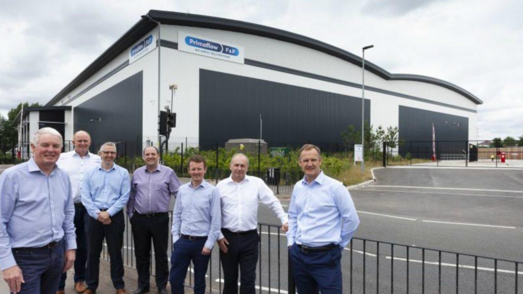 Primaflow F & P opens distribution centre