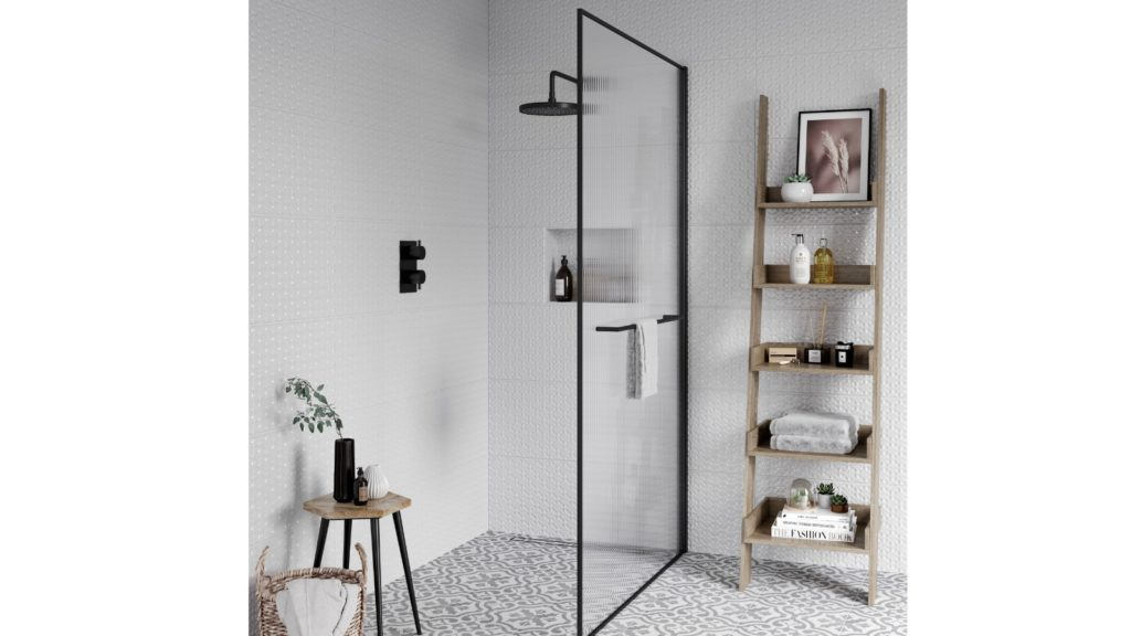 Reeded wetroom from Aqata