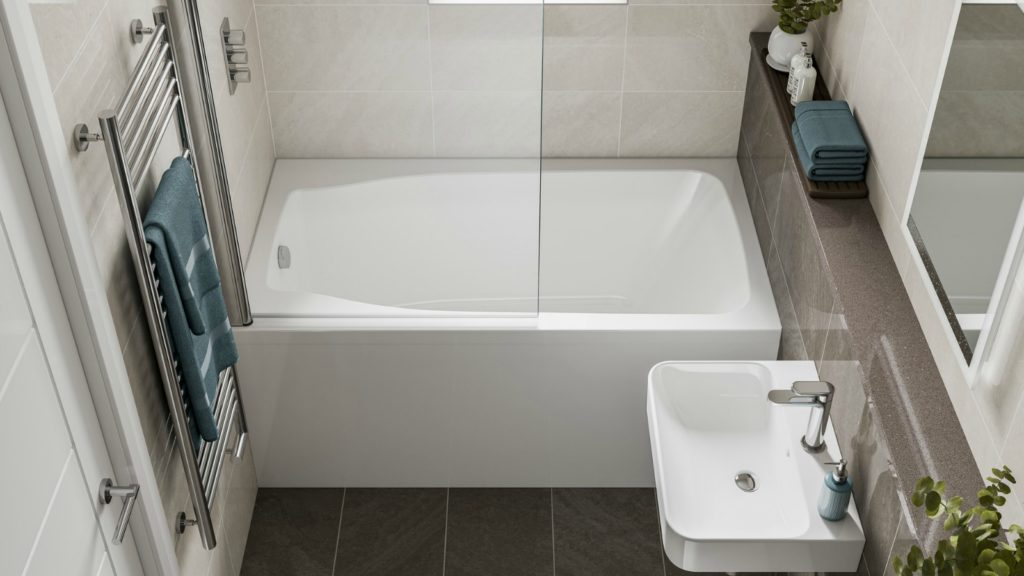 Space saving bath launched by Cabuchon