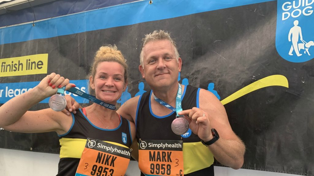 Geberit MD completes Great North Run for charity