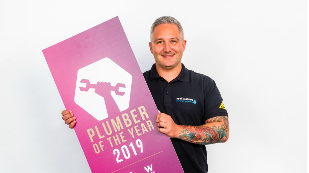 Plumber of the Year named for 2019