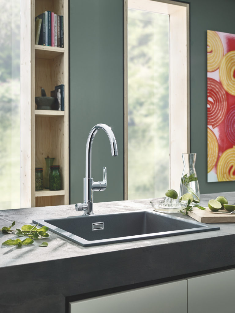 Filtered water on tap from Grohe
