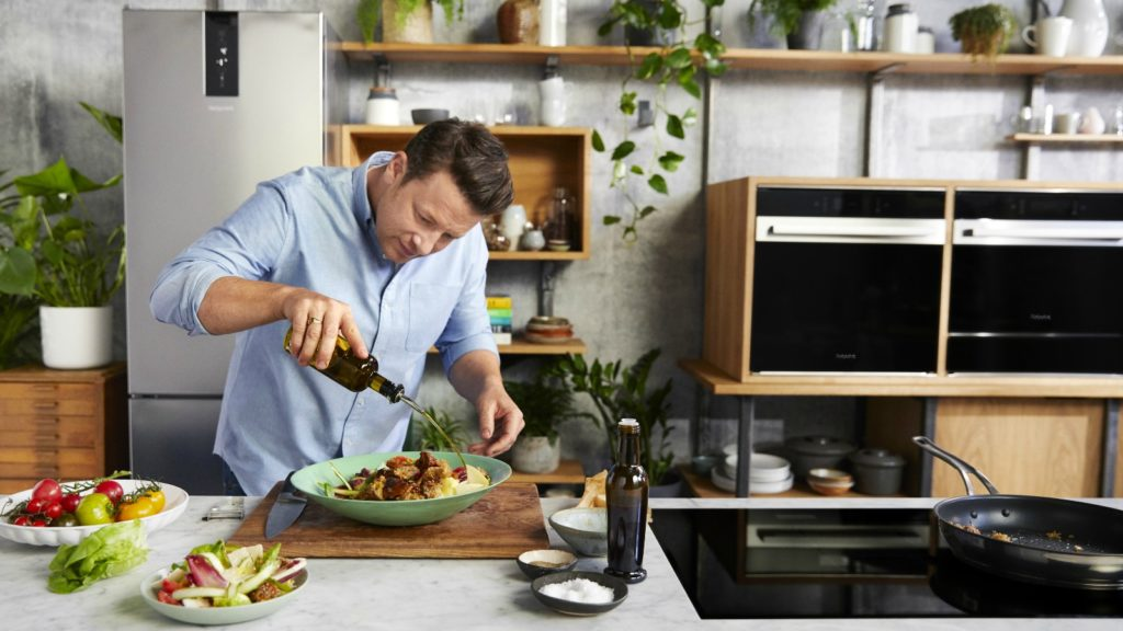 Hotpoint joins with Jamie Oliver in Eat Your Fridge campaign