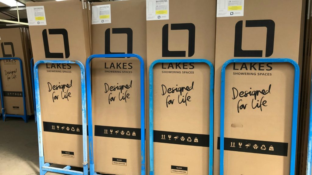 lakes recognised for its recycled packaging