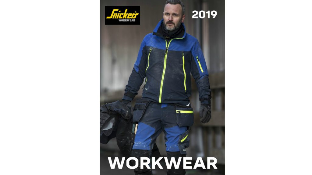 Snickers publishes workwear catalogue