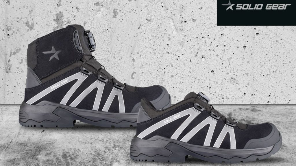 Solid Gear introduces Onyx safety footwear