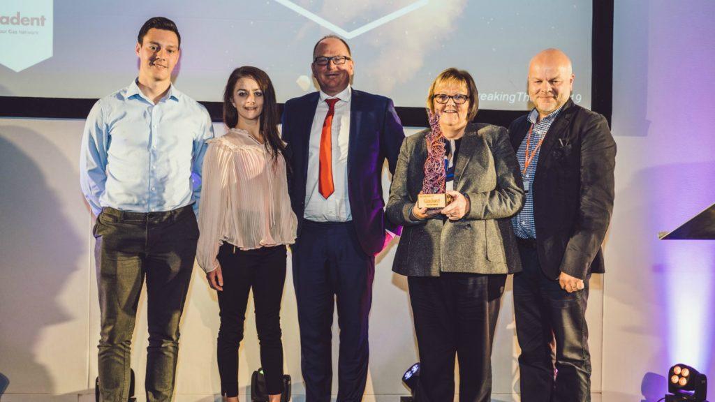 Water Label scoops Keele University Award