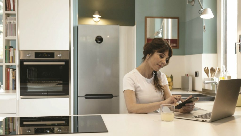 Candy has launched its first smart freezer