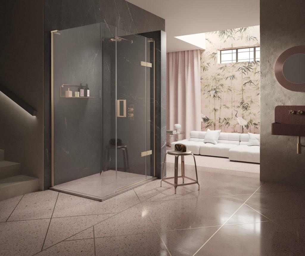 Frameless shower enclosures by Matki
