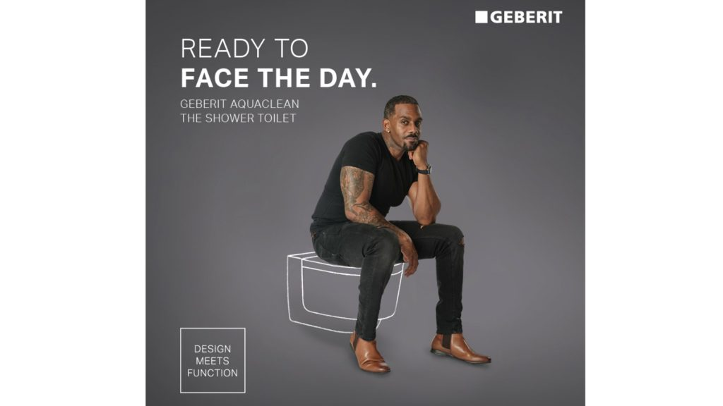 Geberit teams up with celebrity for