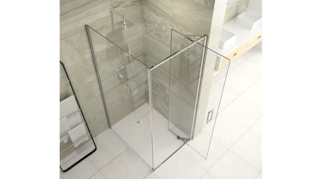 Merlyn Bathrooms - Infold enclosure