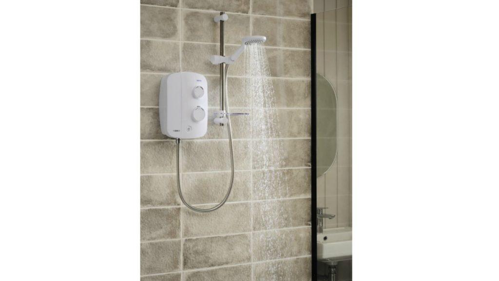 Quiet power shower from Triton 1