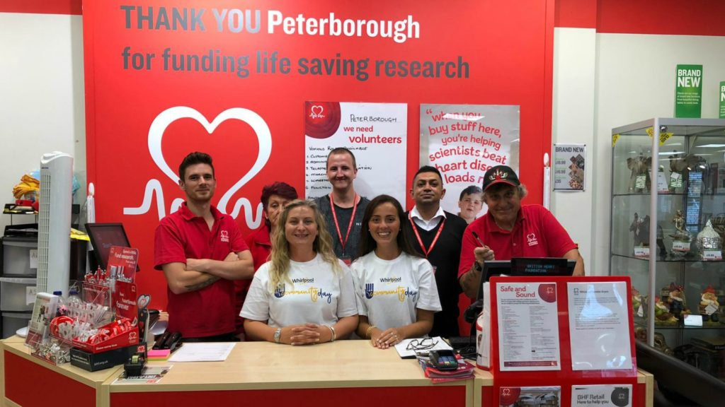 Whirlpool partners with British Heart Foundation