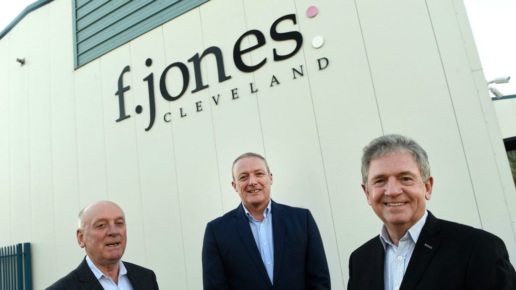 F Jones Cleveland appoints Fyall MD