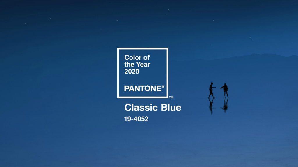 Pantone announces Classic Blue as colour of 2020